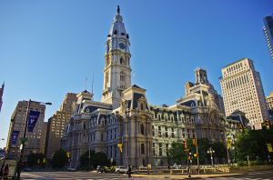 Philadelphia City Hall, home of the Register of Wills, in 2011. Photo by Antoine Taveneaux