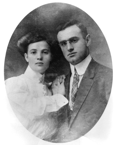 Minnie and Henry Anflick