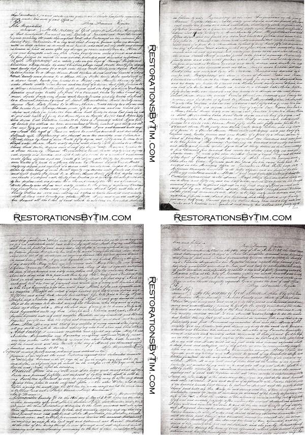 John Hogendobler's Will - 1820