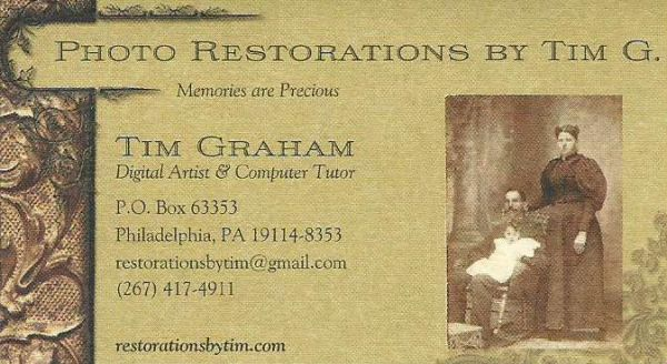 My first business card, from 2012. Don't send mail to that address! My current P. O. Box is 63332.