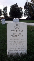 Click for Find-A-Grave Memorial: William Smith Engle, Jr.