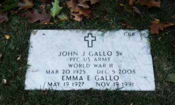 Click for Find-A-Grave Memorial: John J. Gallo, Sr.
