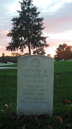 Click for Find-A-Grave Memorial: Joseph A. Muldoon