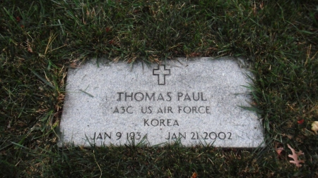 Click for Find-A-Grave Memorial: Thomas Paul
