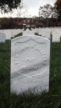 Click for Find-A-Grave Memorial: Benjamin Salters
