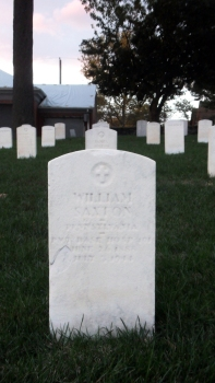 Click for Find-A-Grave Memorial: William Saxton